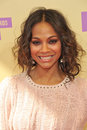 Zoe saldana at the mtv video music awards at staples center los angeles september los angeles ca picture paul smith featureflash Stock Photo