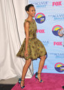 Zoe saldana at the teen choice awards at the gibson amphitheatre universal city july los angeles ca picture paul smith Stock Image