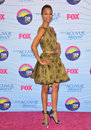 Zoe saldana at the teen choice awards at the gibson amphitheatre universal city july los angeles ca picture paul smith Royalty Free Stock Image