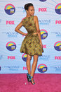 Zoe saldana at the teen choice awards at the gibson amphitheatre universal city july los angeles ca picture paul smith Stock Images