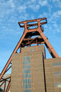 Zollverein essen coal mine industrial complex in germany Royalty Free Stock Images