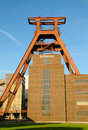 Zollverein essen coal mine industrial complex in germany world heritage Royalty Free Stock Image