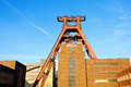 Zollverein essen coal mine industrial complex in germany world heritage Stock Photo