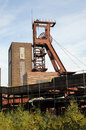 Zollverein essen coal mine industrial complex in germany world heritage Stock Photos