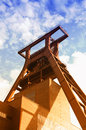 Zollverein essen coal mine industrial complex in germany world heritage Stock Image