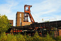 Zollverein essen coal mine industrial complex in schacht germany world heritage Stock Photos