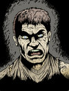 Zombie arrabbiate Fotografie Stock Libere da Diritti