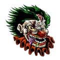 Zombie evil clown