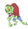Zombie Halloween Monster Stock Image