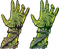Zombie hands versions of Royalty Free Stock Photo