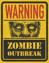 Zombie Outbreak. Hand drawn. Vector Eps8 Stock Images
