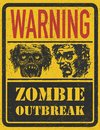 Zombie Outbreak. Hand drawn. Vector Eps8 Stock Image