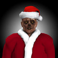 Zombie Santa Royalty Free Stock Images