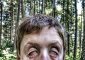 Zombie selfie Royalty Free Stock Photo