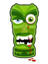 Zombie Tiki Royalty Free Stock Photography