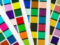Zone di colore Fotografie Stock