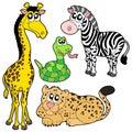 Zoologická záhrada zvieratá 2