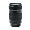 Zoom lens with filter on white uw isolated background Stock Photography
