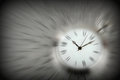 Zooming on time Royalty Free Stock Photo
