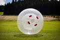 Zorbing Royalty Free Stock Photo