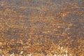 Zrudziały metal tekstury tło Obraz Stock