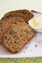 Zucchini Bread Slices Royalty Free Stock Photo