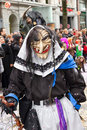 ZueriCarneval Fasnacht Zurich, Switzerland Royalty Free Stock Photo