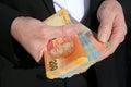 Zuidafrikaans rand banknotes Royalty-vrije Stock Foto's