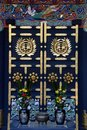 Zuihoden mausoleum door of the in sendai miyagi prefecture japan this is the of date masamune founder of the sendai domain and one Royalty Free Stock Images