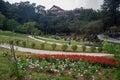 Zulai Bhudist Temple Gardens Sao Paulo Royalty Free Stock Photo