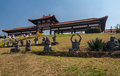 Zulai Budhist Temple Cotia Sao Paulo Royalty Free Stock Photo