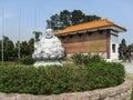 Zulai Budhist Temple Sao Paulo Brazil Stock Images