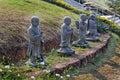 Zulai Budhist Temple Sao Paulo Brazil Royalty Free Stock Photo