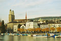 Zurich in autumn Royalty Free Stock Image