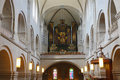 Zurich church inside of the in switzerland Royalty Free Stock Photography