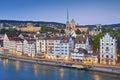 Zurich. Royalty Free Stock Photo