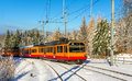Zurich S-Bahn on the Uetliberg mountain Royalty Free Stock Photo