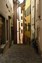 Zurich Switzerland alley Royalty Free Stock Image