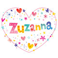 Zuzanna girls name