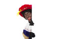 Zwarte piet (black pete) Stock Images