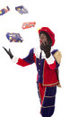 Zwarte piet (black pete) Stock Photo