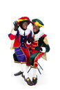Zwarte piet sinterklaas black pete pieten typical dutch character part of a traditional event celebrating the birthday of in Stock Image