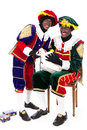 Zwarte piet sinterklaas black pete pieten typical dutch character part of a traditional event celebrating the birthday of in Royalty Free Stock Photo