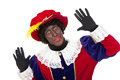 Zwarte piet sinterklaas black pete typical dutch character part of a traditional event celebrating the birthday of in december Royalty Free Stock Photo
