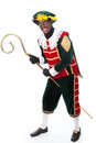 Zwarte piet sinterklaas black pete typical dutch character part of a traditional event celebrating the birthday of in december Stock Image