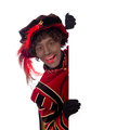 Zwarte Piet ,Sinterklaas (black pete) Royalty Free Stock Photo