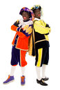 Zwarte pieten sinterklaas (black pete) Royalty Free Stock Photo