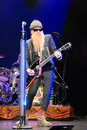 ZZ top Live in Concert Royalty Free Stock Photo