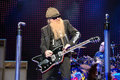 ZZ top Live in Concert Stock Photos