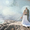 Wedding - Bride and Groom. On there wedding day Stock Photo